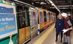 El Tren de la Navidad recorrerá la Línea 6 del Metro de Madrid