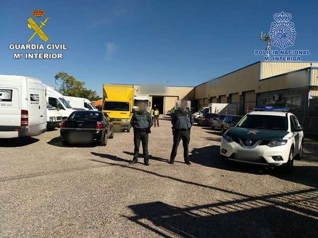 Imágenes de la operación (Guardia Civil).