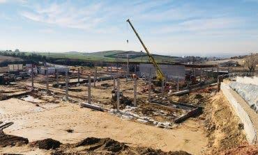 Avanzan las obras del futuro centro comercial de Algete