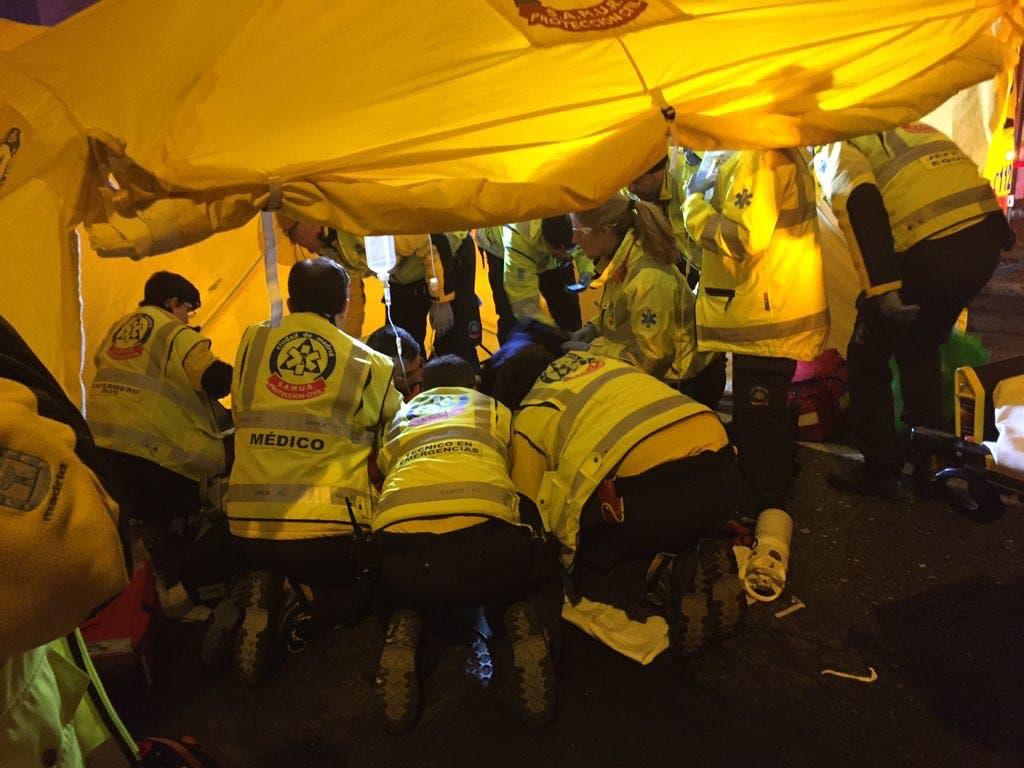 Atropella gravemente a una joven en Madrid y se da a la fuga