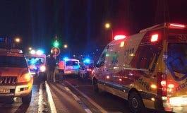 Muy grave una joven de 25 años al ser atropellada en Madrid