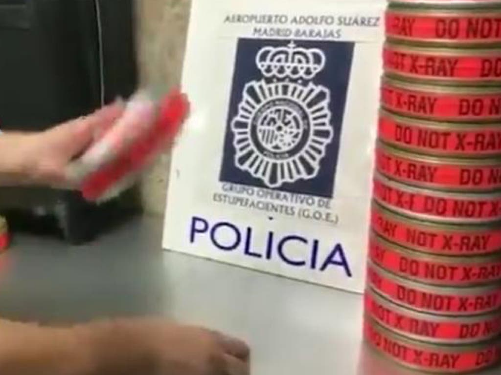 Así pretendía meter en España 3,5 kilos de coca un hombre detenido en Barajas