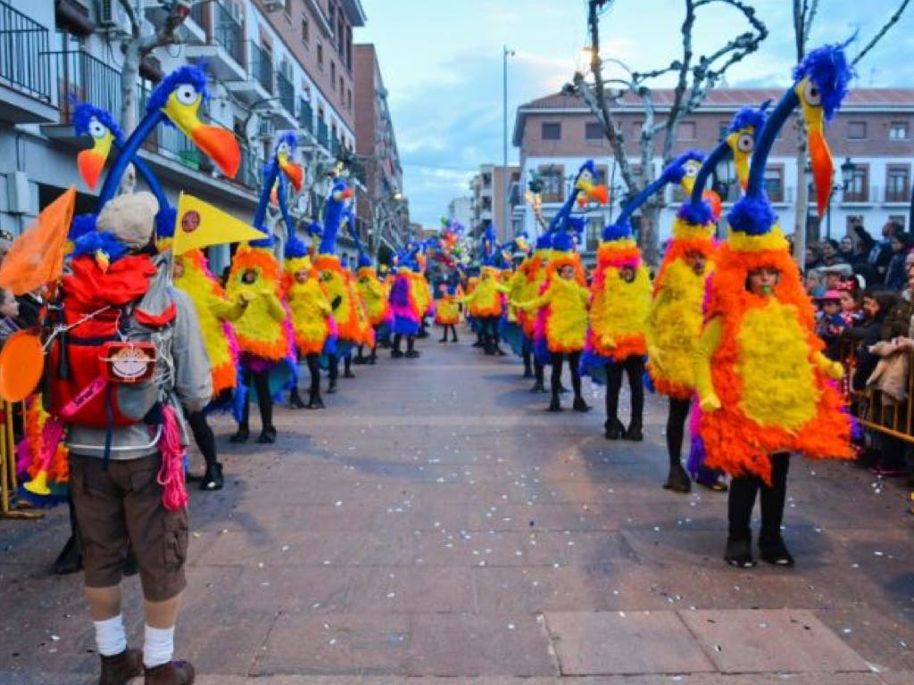 Torrejón estrena recorrido en el Gran Desfile de Carnaval