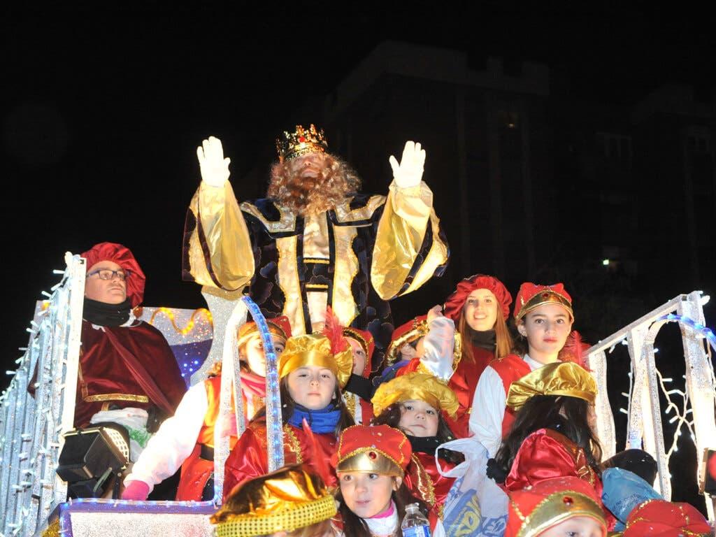 Todo listo para la Cabalgata de Reyes de Coslada