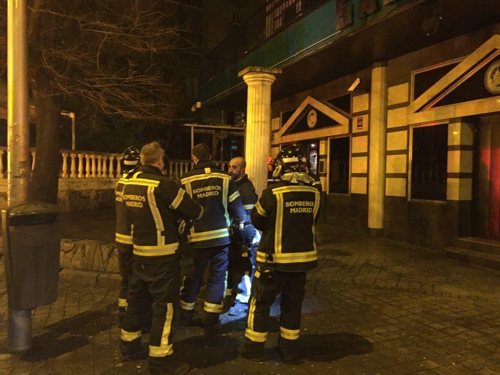Varios heridos al desplomarse el falso techo de una discoteca en Madrid