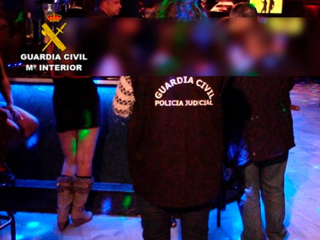 Liberadas de un club de alterne dos menores captadas en un instituto de Madrid