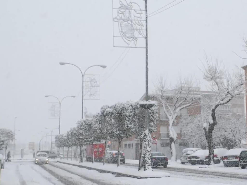 La nieve podría llegar al Corredor del Henares este sábado