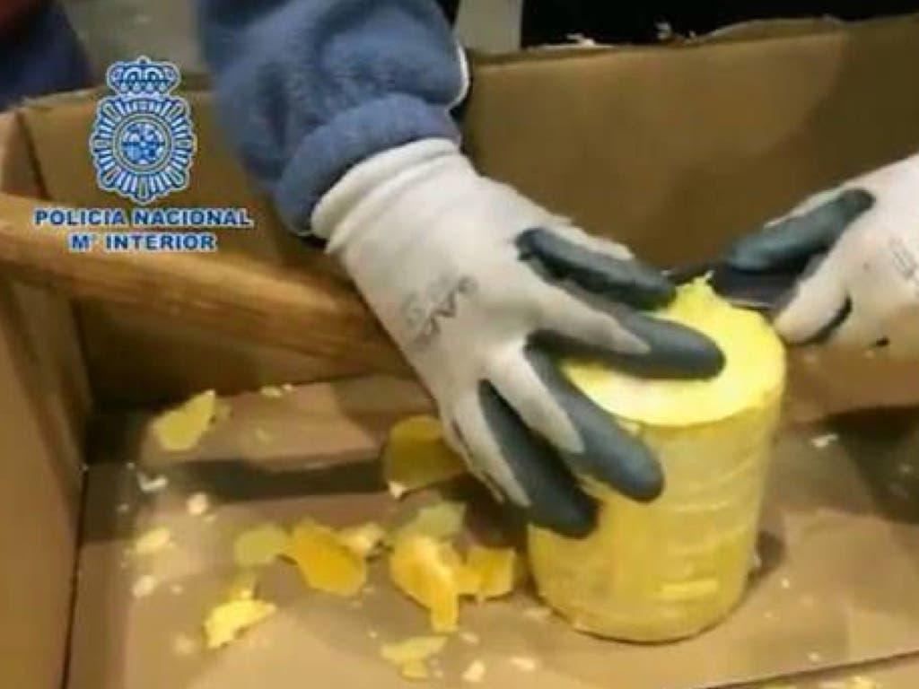 Desmantelado en Nuevo Baztán un laboratorio clandestino de cocaína