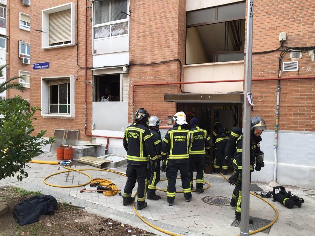 Muere un hombre tras incendiarse el piso en el que vivía de alquiler