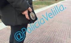 Policías de paisano en Velilla para poner freno a las cacas de perro