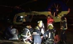 Una persona herida tras precipitarse en parapente en Guadalajara