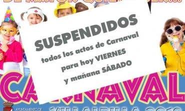 Villalbilla suspende los actos de Carnaval por la repentina muerte de un niño
