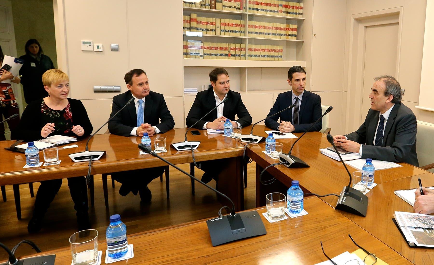 Reunión de los alcaldes con Fomento (Ayto. de Coslada).