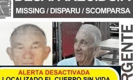 Localizan el cuerpo sin vida del anciano desaparecido en Madrid