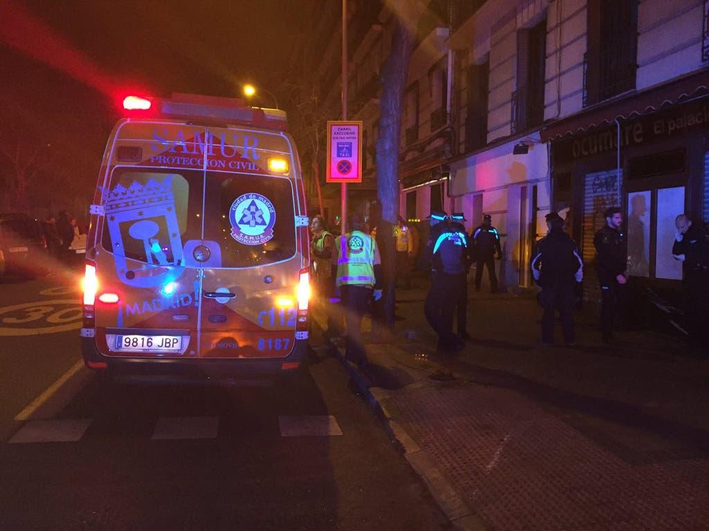 Un joven resulta herido y su perro muerto al ser atropellados en Madrid