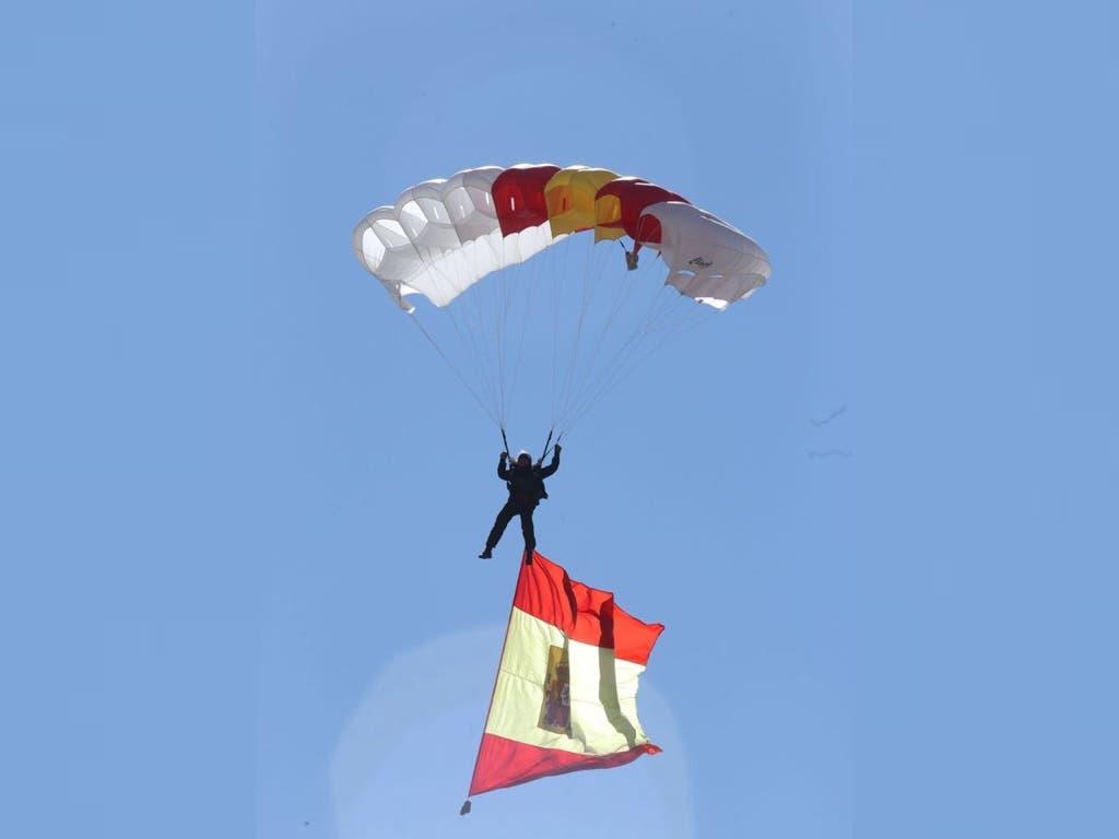 La Brigada Paracaidista celebró en Paracuellos su 64 aniversario