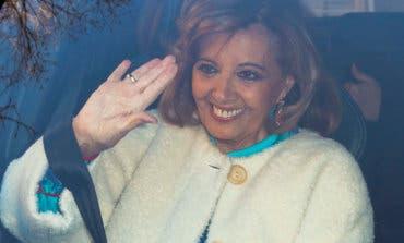 María Teresa Campos recibe el alta en el Hospital La Luz