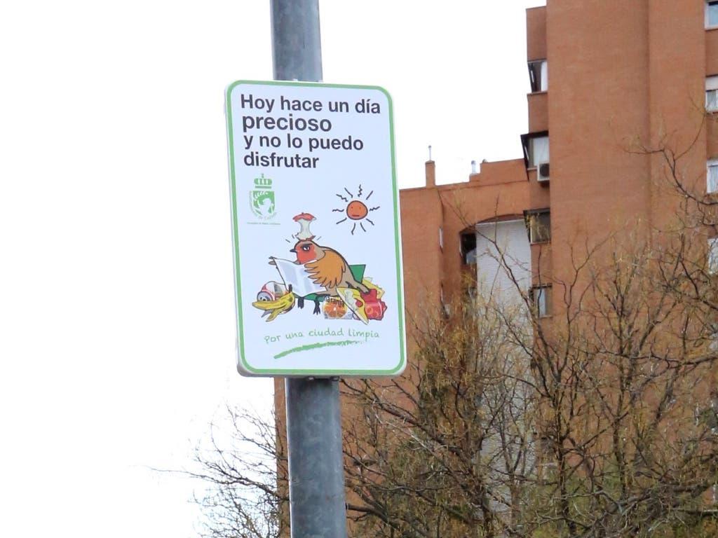 Coslada instala en las calles estos carteles ideados por alumnos