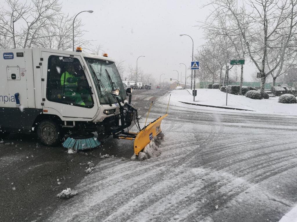 Coslada se prepara para hacer frente a posibles nevadas