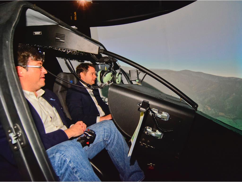 Entrol, el fabricante de simuladores de vuelo con sede en Torrejón