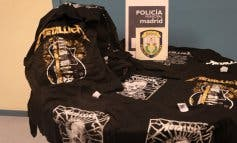Requisan camisetas falsas de Metallica durante su concierto en Madrid