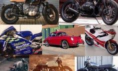 Roban 8 motos únicas y un Porsche en un taller de Paracuellos