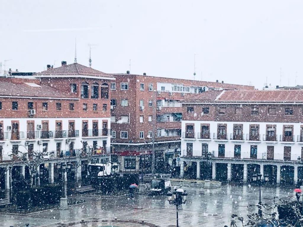 El temporal de nieve en el Corredor del Henares, en imágenes
