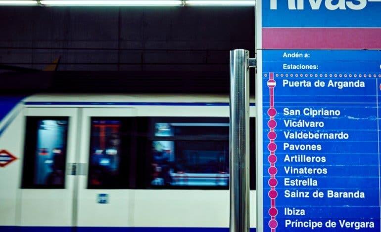 Servicio alternativo de autobuses ante el cierre del Metro de Rivas y Arganda