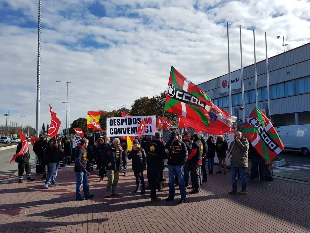 Huelga indefinida en Selecta Torrejón contra los 300 despidos