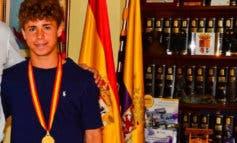 El torrejonero Mario Soriano, en la Selección Española Sub-16