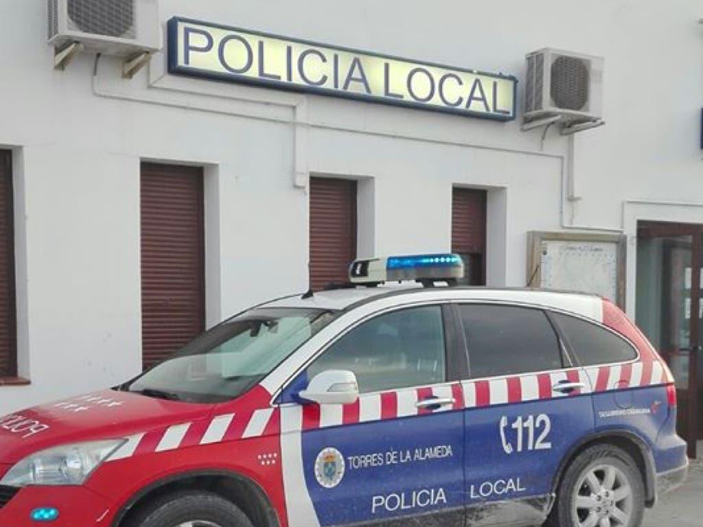 Detenido un joven en Torres de la Alameda por resistencia a la autoridad