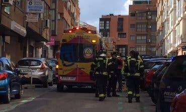 Una mujer de 90 años, en estado crítico tras un incendio en Madrid
