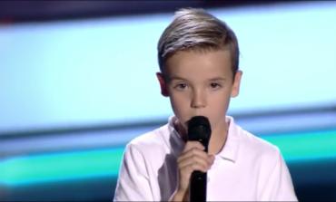 Víctor, el pequeño de Daganzo que ha cumplido su sueño de cantar en La Voz Kids