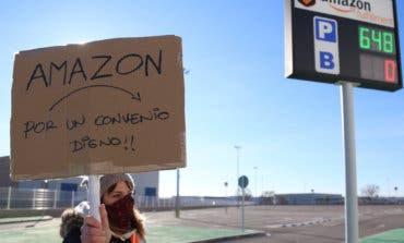 Los trabajadores de Amazon se concentran este viernes en Alcalá y Torrejón