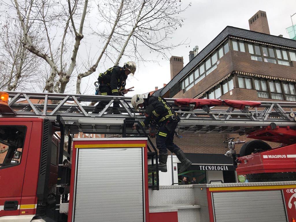 El viento deja cientos de incidencias en la Comunidad de Madrid