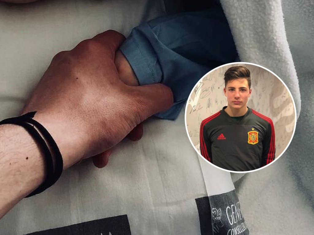 La emotiva carta de despedida del hijo mayor de Cañizares a su hermano