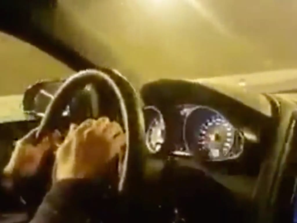 Detenido por ir a 300 km/hora por la M-50 durante una carrera ilegal