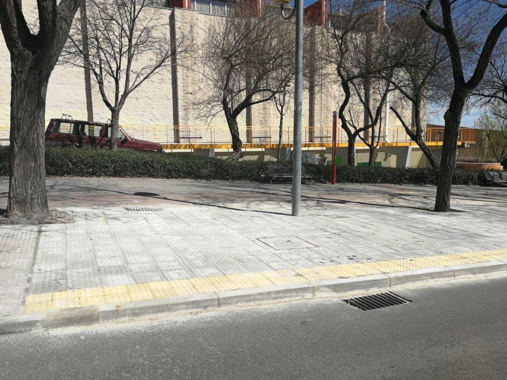 Finalizadas las obras en las calles Perú, Argentina y Honduras de Coslada