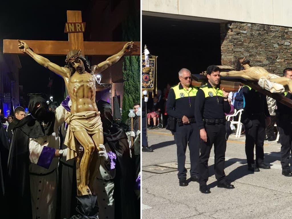 Martes Santo en Alcalá de Henares y Torrejón de Ardoz, en imágenes