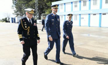 La visita del rey Felipe VI a Torrejón de Ardoz, en imágenes