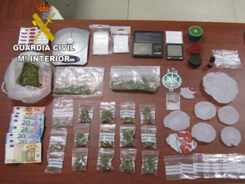Facilitaban droga a menores de Guadalajara a cambio de objetos robados