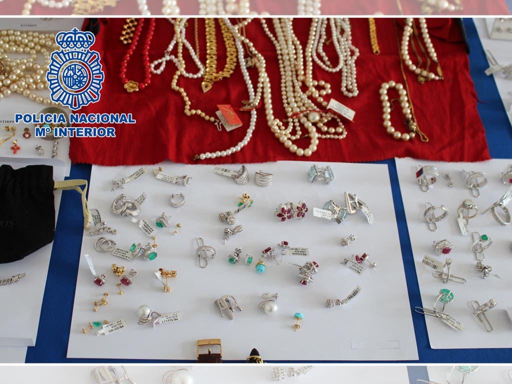 Así robaron 2,5 millones de euros en joyas en la Milla de Oro de Madrid