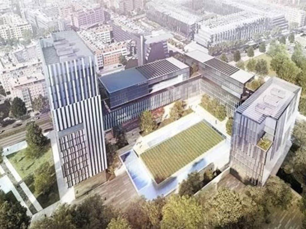 Méndez Álvaro acogerá el mayor complejo de oficinas de Madrid tras las Cuatro Torres