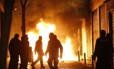 Cuatro detenidos en Madrid por los disturbios de Lavapiés