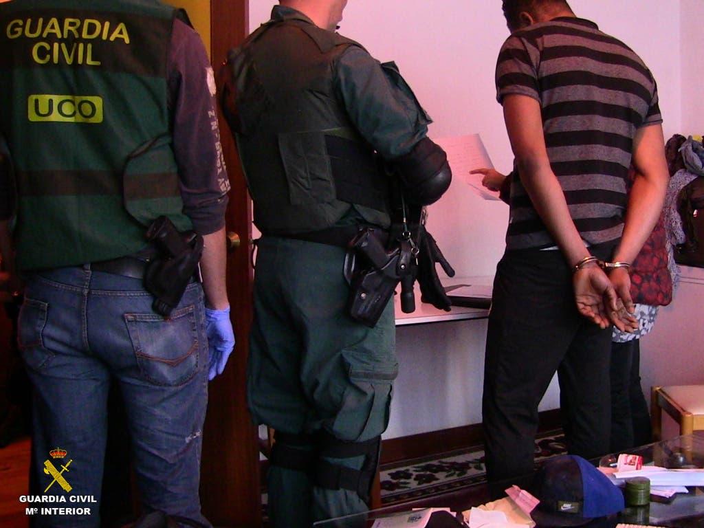 Duro golpe en Madrid y Guadalajara contra una mafia nigeriana de prostitución
