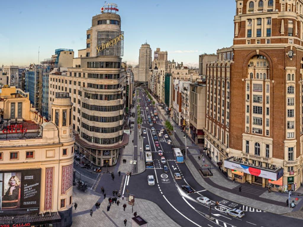 Madrid inaugurará la nueva Gran Vía el 24 de noviembre