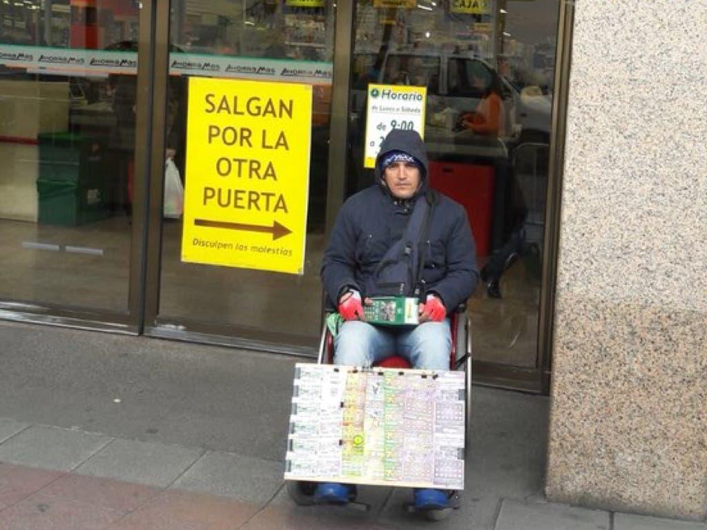 La ONCE despide a un discapacitado en Torrejón «por no vender lo suficiente»