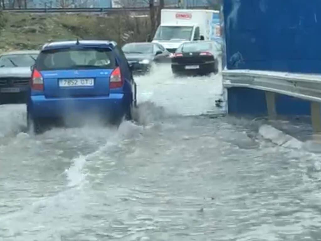 Árboles caídos, inundaciones… Efectos del temporal en el Corredor del Henares