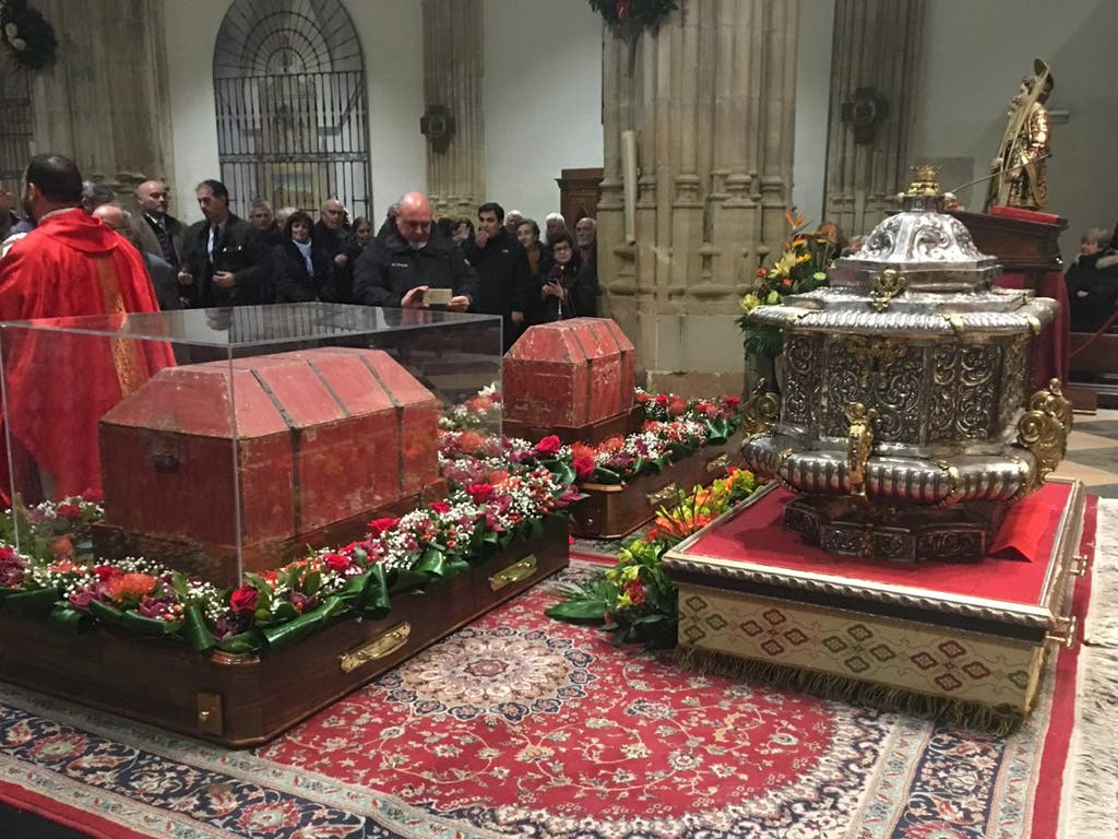 Alcalá de Henares saca este sábado en procesión las reliquias de los Santos Niños