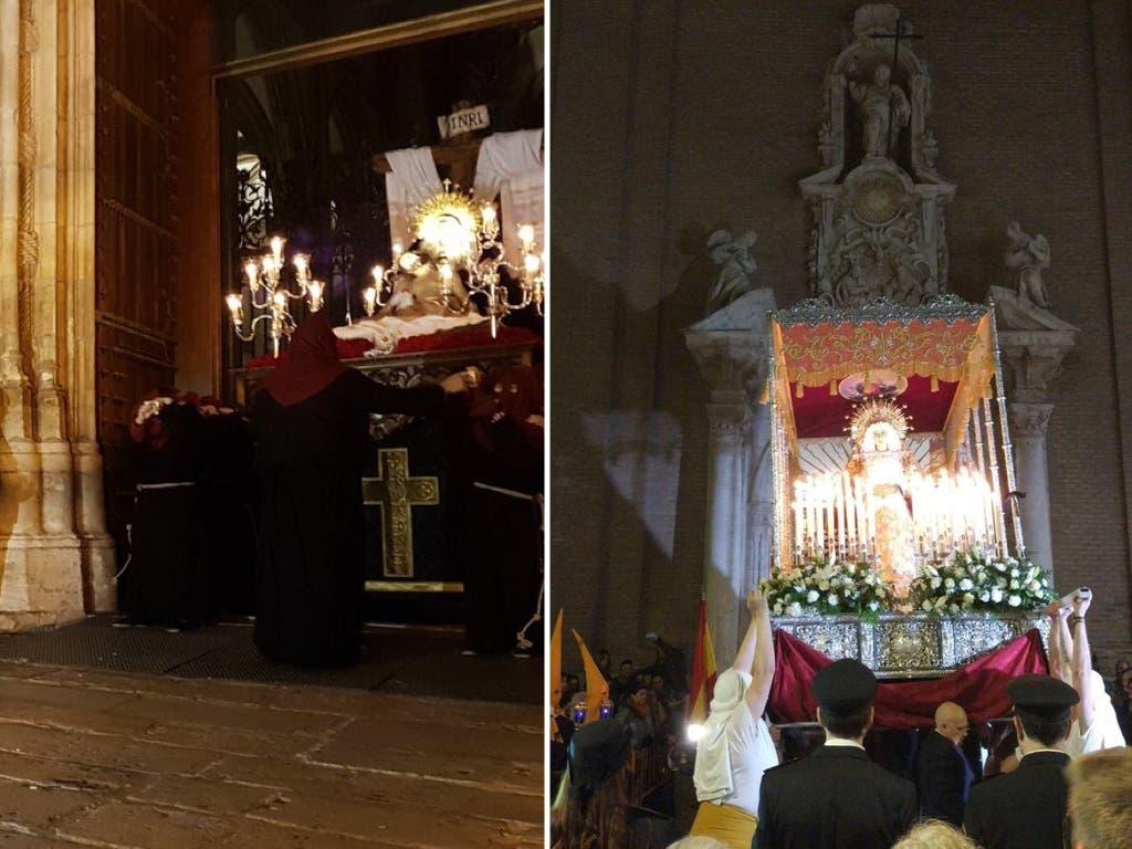 Lunes Santo en Alcalá de Henares y Guadalajara, en imágenes